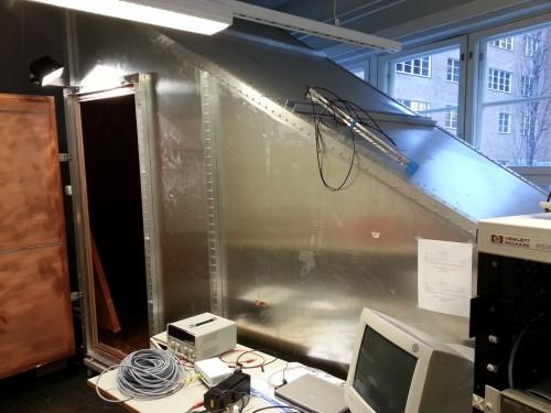 GTEM type EMC chamber