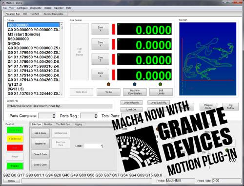 Mach4 plugin